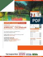 2016 2017 Issaquah School District Calendar