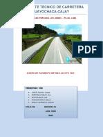 Expediente Tecnicodd de Carretera de Huayochaca