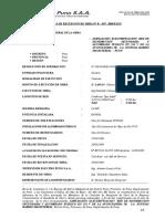 Acta de Recepcion de Obra N°057 - 2009 Ampliacion de Red  DistribucioN Secundaria Av.Costanera Jose. A Encinas - PUNO