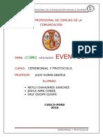 Informe Ceremonial