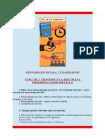 Programa Titularizare Psihopedagogie Speciala - 2016