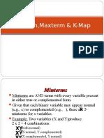 Minterm,Maxterm & K-Map