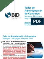 Administracion de Contratos Mayo 2016
