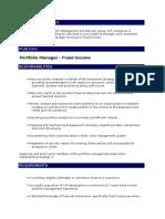 BIAS Portfolio Management JD