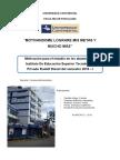 Motivación para el estudio en los alumnos del Instituto De Educación Superior Tecnológico Privado Rudolf Diesel del semestre 2016 - I