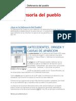 Defensoria Del Pueblo