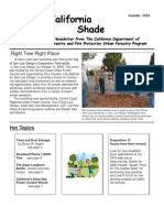 California Shade Newsletter, Summer 2006  ~ California Urban Forestry Program