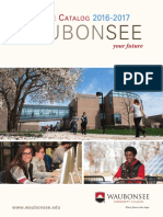 Waubonsee Catalog 2016-2017