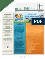 2016 June Eastminster Edition