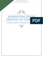 Administración de Centro de Cómputo