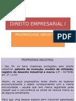 AULA 7 - DIREITO EMPRESARIAL I - estabelecimento, registro industrial.pptx