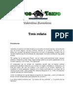 Zuravleva, Valentina - Tres Relatos.doc