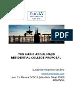 Tun Habib Abdul Majib Residential College Proposal