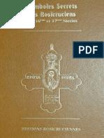 Occultisme-Rose+Croix - Symbole Secrets des Rosicruciens des 16eme et 17eme Siecles (JPG)