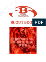 Football Scouting Book