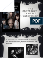 Grotesque Elemets in Great Expectation
