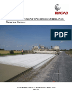 RMCAO Concrete Pavement Specifiers Guidelines MUN Aug 091