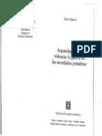 Clastres, Pierre - Arqueología de La Violencia