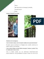 Trabajo de Campo (Reserva Ecologica) Carlos Toro