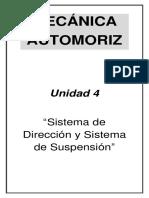 Mecánica Automotriz - Unidad 4
