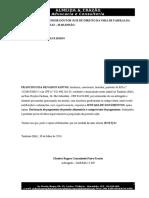 Requerimento - Juntada de Documentos Novos - Chico Timbiras