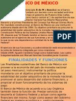 Banco de Mexico y Sistema Bancario