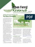 Center for Urban Forest Research Newsletter, Summer 2005