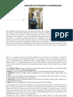 Daño Genético Por Radiación en Estudiantes de Odontología