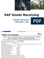Sap Goods Receiver