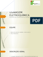 USINAGEM ELETROQUÍMICA