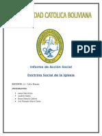 Informe de Acción Social
