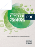The Economic Cost of Violence Containment