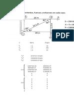 Ejercicio analisis estructural excel