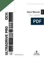 DCX2496 Manual