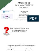 Ambiente de Desenvolvimento Microsoft