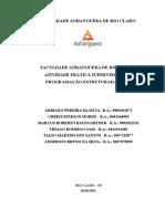 Atps - Programação Estruturada 1