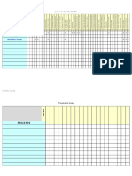 Matriz Areas vs Procesos vs Req ISO 9001