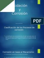 Oxidación y corrosion