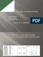 Edificios en Altura -Estructuras