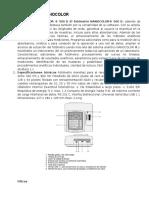 fotometro nanocolor 500d