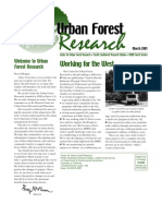 Center for Urban Forest Research Newsletter, March 2001