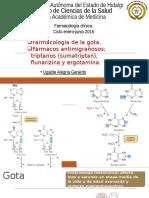 Farmacología de La Gota y Migraña