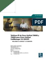 Manual Teléfono 7960