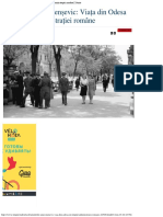 Amintirile Unui Menșevic_ Viața Din Odesa În Timpul Administrației Române _ Isto