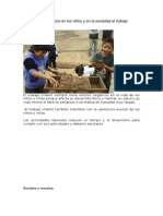 Qué Daños Ocasiona en Los Niños y en La Sociedad El Trabajo Infantil