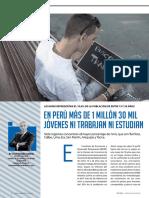 Informe sobre los Ninis en el Perú