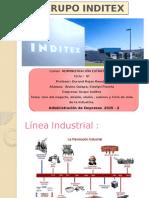 Estudio del Grupo Inditex