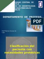Clasificacion Paciente Necesidades Protesicas