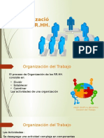 Organizacion RRHH