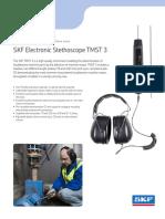 Vibration Stethoscope - SKF Electronic Stethoscope TMST 3